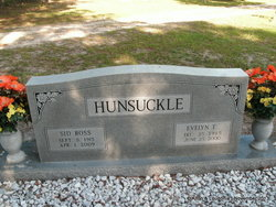 Evelyn <I>Townsend</I> Hunsuckle