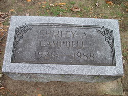 Shirley A Campbell
