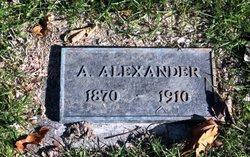 A Alexander