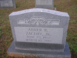 """Abner Rosser """"Zack"""" Zachry Jr."""