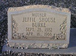 Jeffie <I>Shouse</I> Burke