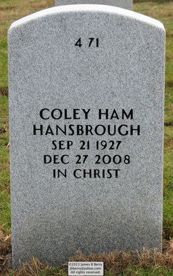 Coley <I>Ham</I> Hansbrough