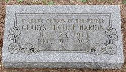 Gladys Lucille <I>Preston</I> Hardin