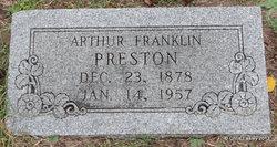 Arthur Franklin Preston