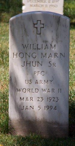 William Hong Marn Jhun, SR