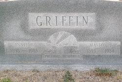 Annie Belle <I>Harold</I> Griffin