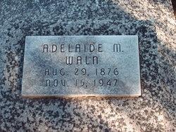 "Adelaide Martha ""Addie"" <I>Jennings</I> Waln"