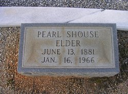 Emma Pearl <I>Shouse</I> Elder