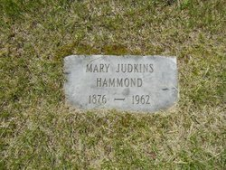 Mary <I>Judkins</I> Hammond