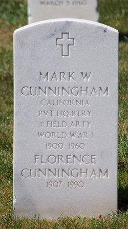Florence <I>Johnson</I> Cunningham