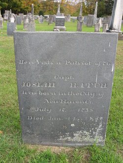 Capt Josiah Hatch