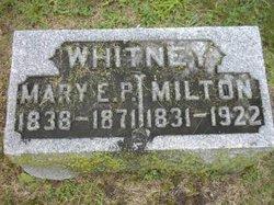 Mary Elizabeth <I>Pephinger</I> Whitney