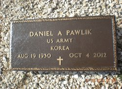Daniel Anton Pawlik 1930 2012