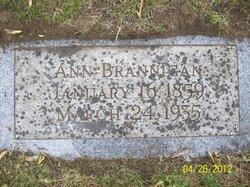 Ann <I>Monaghan</I> Brannigan