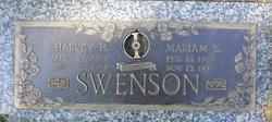 Harvey H Swenson