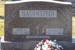 Dorothea R. <I>Schoenauer</I> Hauenstein