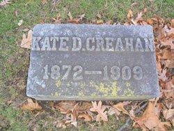 "Catherine D. ""Kate"" <I>Dolan</I> Creahan"