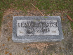 Gilmore D Paxton