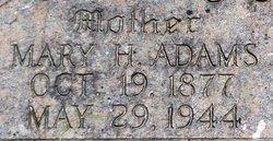 Mary Hannah <I>Adams</I> O'Brien