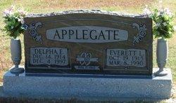 Delpha Elder <I>Foss</I> Applegate