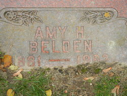Amy H <I>Shaw</I> Belden