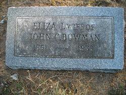 Eliza Ann <I>Wolfe</I> Bowman