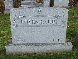 Lillian <I>Saks</I> Rosenbloom