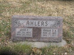 John Frederick Ahlers