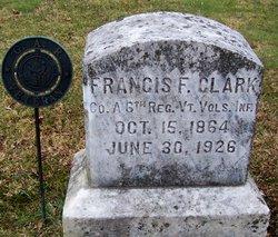 "Francis F ""Frank"" Clark"