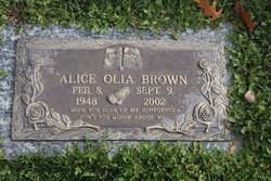 Alice Olia Brown