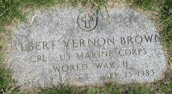 Albert Vernon Brown