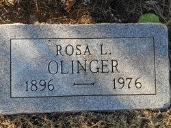 Rosa Lee <I>Mullins</I> Olinger