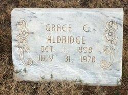 Grace Christine <I>Alexander</I> Aldridge