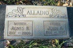 Agnes Bridget <I>O'Sullivan</I> Alladio