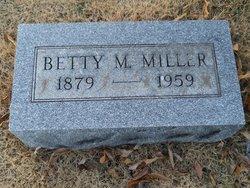 Betty Monzella <I>Carmickle</I> Miller