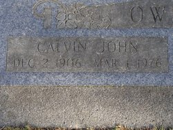 Calvin John Owings