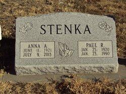 Anna Agnes <I>Blomstedt</I> Stenka