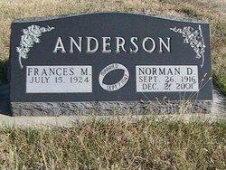 Norman D Anderson