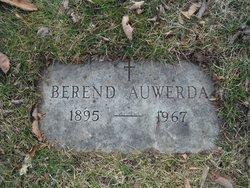 """Berend """"Barney"""" Auwerda"""