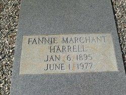 Fannie Lillian <I>Marchant</I> Harrell