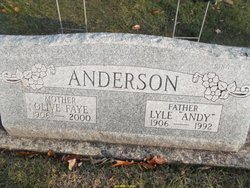 Lyle Andy Anderson
