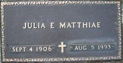Julia Ella <I>Yungen</I> Matthiae