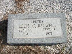 """Louis Calhoun """"Pete"""" Bagwell"""