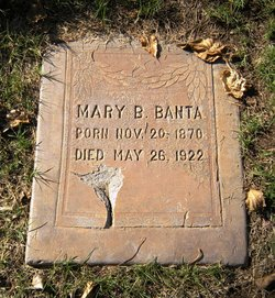 Mary Bennett <I>Anderson</I> Banta