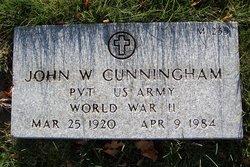 John W Cunningham