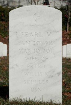 Pearl V Schuler