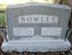 """Albert Ephraim """"Bert"""" Bowles"""