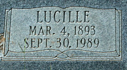 Lucille <I>Higgason</I> Russell