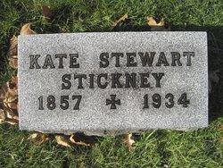 Kate <I>Stewart</I> Stickney