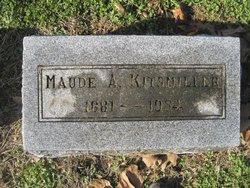 Maude <I>Armstrong</I> Kittsmiller